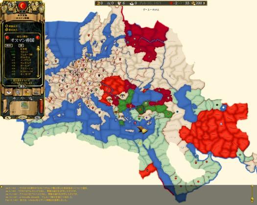 1421年の外交状況