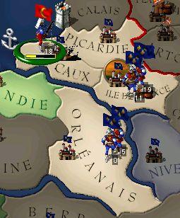 ルーアン城の攻略
