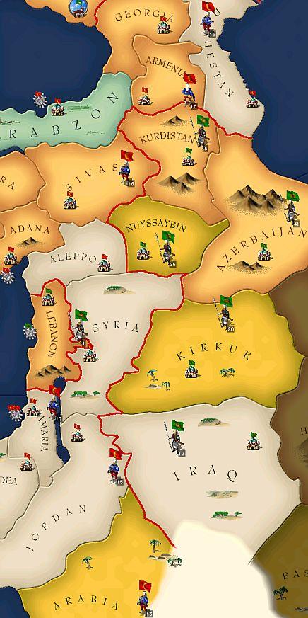 1587年の中東