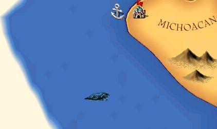 ミチョアカン沖の海獣