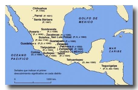 メキシコの鉱山