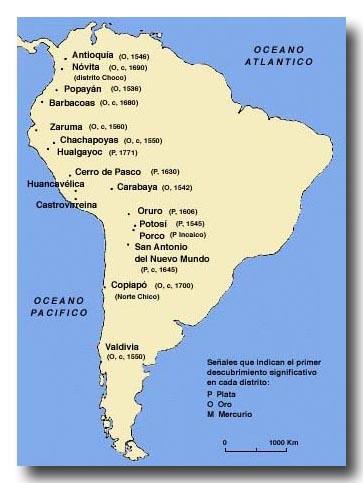 ペルーの鉱山